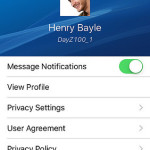 Message App of PlayStation for IOS and Android Download.