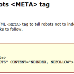 "Website SEO Tips "" Learn Robots Meta Tag""."