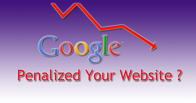 Google-Penalized-your-website