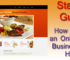 How to Start an Online Food Business from Home
