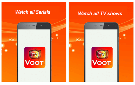 Live voot show TV android app