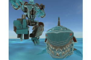 Robot Shark android game