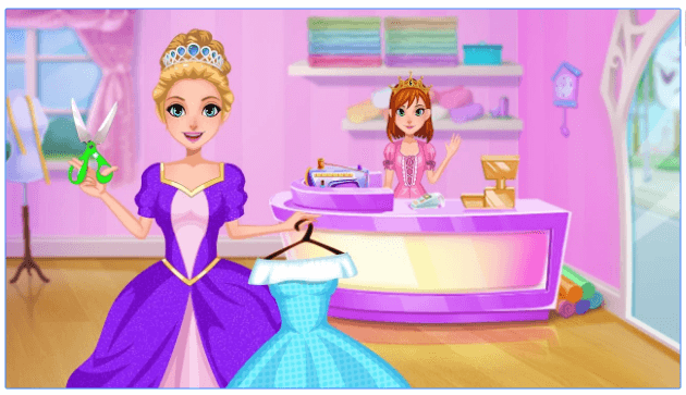 Royal Tailor Shop android game