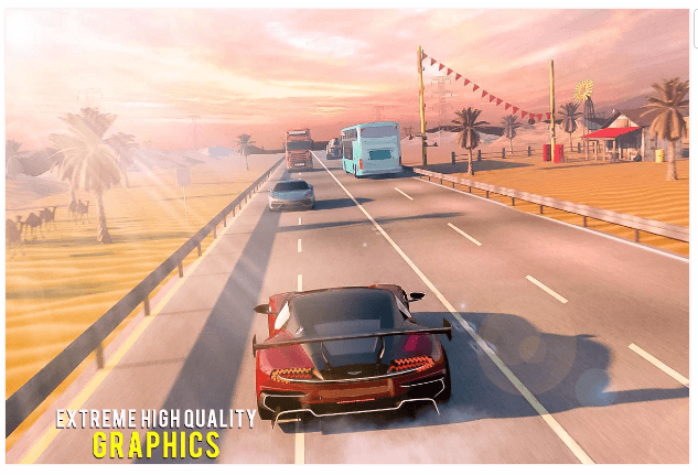Traffic Car Highway Rush Racing Android Game