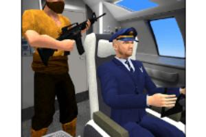 US Air Force Plane Hijack Rescue Commando Mission game logo