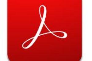 Adobe Acrobat Reader app logo