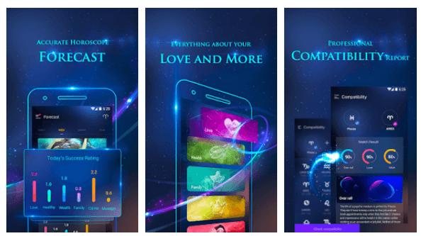 Alpha Horoscope & Palmistry android app