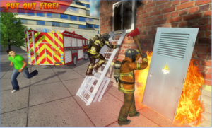 American FireFighter City Rescue 2018 android app