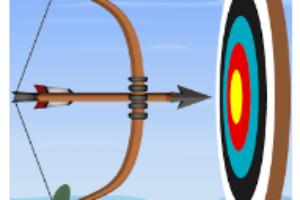 Archery game logo