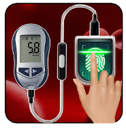 BP and Sugar Check Through Finger Prank app logo