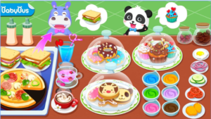 Baby Pandas Cafe Be a Host of Coffee Shop & Cook android appBaby Pandas Cafe Be a Host of Coffee Shop & Cook android app