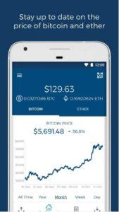 Blockchain - Bitcoin & Ether WalletBlockchain - Bitcoin & Ether Wallet