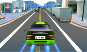 Car Racing android app