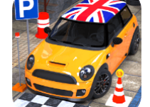 Dr Parker High Speed Car Driving Simulation android app logo