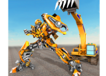 Excavator Robot Transformation Robot Transforming android app logo