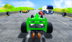 Fast Speed In Car Racing android app