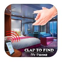 Find phone by clapping app logo