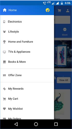 Flipkart Lite android app