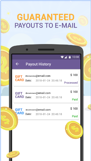 Free Gift Cards & Promo Codes - Get Free Coupons android app