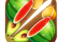Fruit Cut 3D app logo