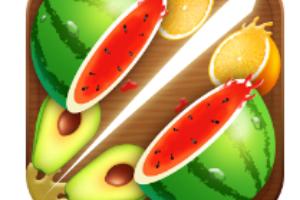 Fruit Cut 3D app logo