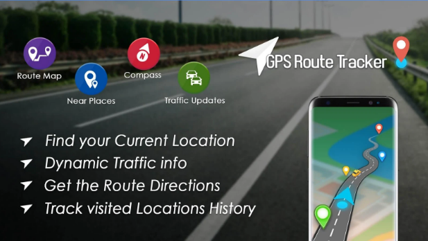 GPS Maps, Directions - Routes Tracker android app