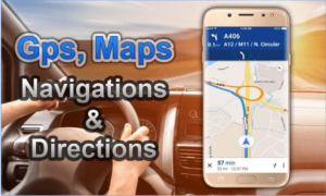 GPS, Maps, Navigations & Directions android app