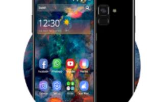 Galaxy Star Succinct Simple Theme android app logo