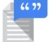 Google Text-to-speech app logo