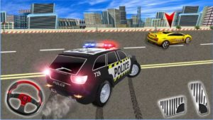 Grand Racing in Police Car 3d - Real Chase Mission