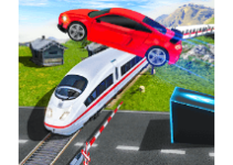 Highway Stunt Car Racing Mania android app logo