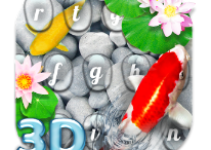 Live 3D Koi Fish Keyboard Theme android app logo