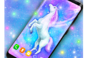 Majestic Unicorn Live Wallpaper android app logo