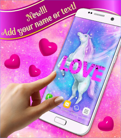 Majestic Unicorn Live Wallpaper android app