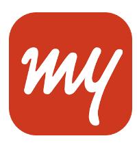 MakeMyTrip-Flights Hotels Cabs IRCTC Rail Bookings app logo
