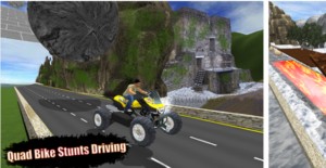 Motocross ATV Bike Racing Stunts