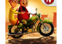 Motu Patlu Speed Racing logo