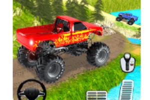 Offroad Grand Monster Truck Hill Drive android app logo