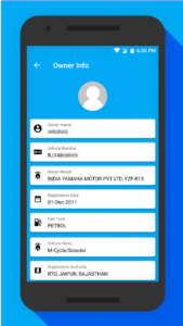 RTO Vehicle Information android app