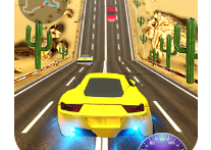 Racing In Car 3D game logol