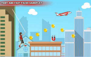 Rope Flying Adventure android app
