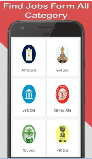 Sarkari Naukri- Latest Govt Jobs & Daily E Khabar android app