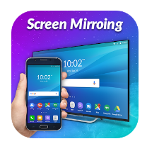 Screen Mirroring with TV android app logo