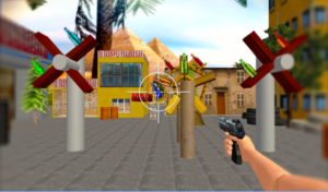 Shoot Bottles Gun Shooter 3D android app