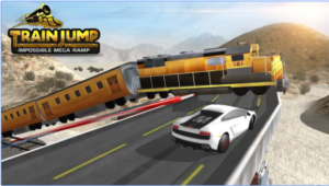 Train Jump Impossible Mega Ramp android app