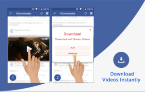 Video Downloader for Facebook android app