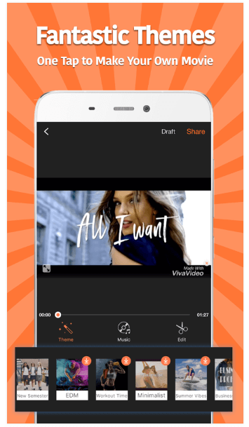 VivaVideo android app