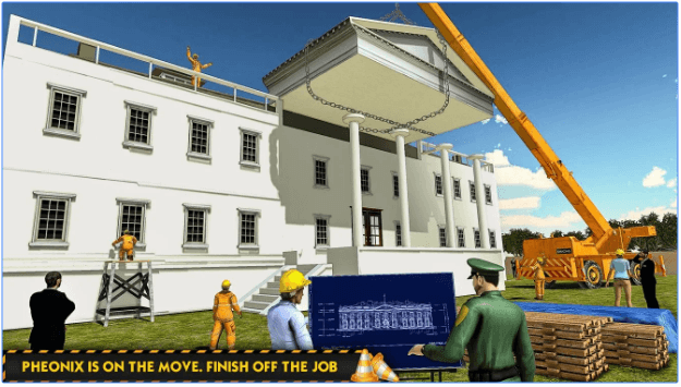 White House Building Construction Games City Build Android App
