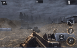World War 2 Battleground Survival Winter Shooter android app