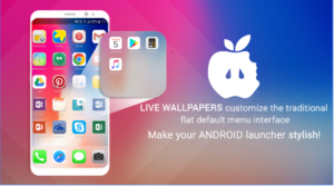 iLauncher for Phone X and Phone 8 Plus android app
